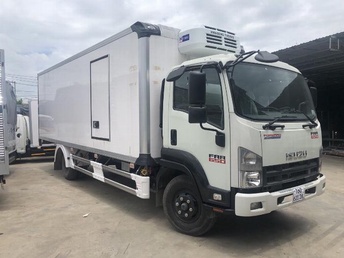 Bán xe Isuzu Nhật Bản 6.2 tấn, đời 2019, hỗ trợ trả góp 5