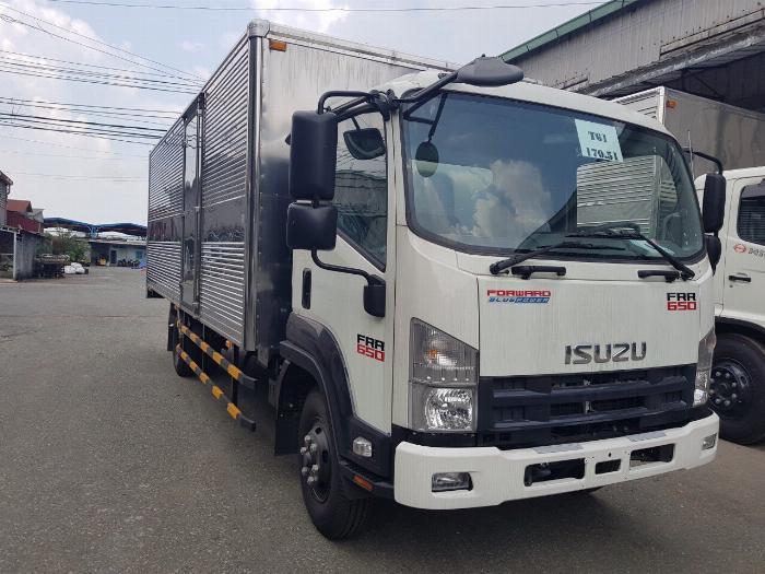 Bán xe Isuzu Nhật Bản 6.2 tấn, đời 2019, hỗ trợ trả góp 6