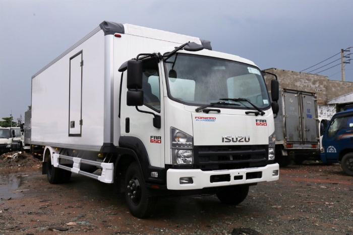 Bán xe Isuzu Nhật Bản 6.2 tấn, đời 2019, hỗ trợ trả góp 7