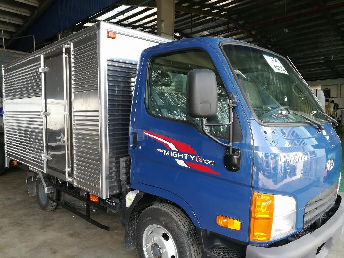 xe tải chạy trong thành phố 2,5 tấn hạ tải 1,9 tấn