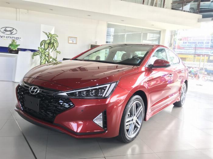 Giá Hyundai Elantra sport 2019 sẵn xe giao ngay hỗ trợ trả góp nhanh