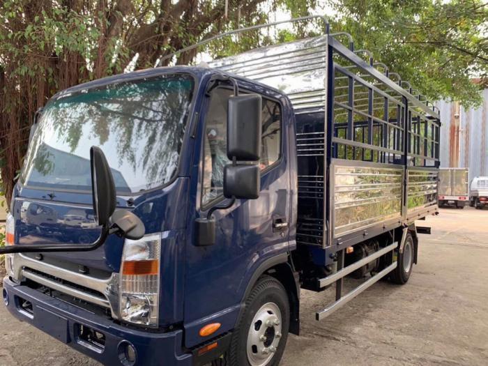 xe tải JAC 6t5 thùng 5.3m, sx 2019, cabin vuông hỗ trợ trả góp 80% xe 2