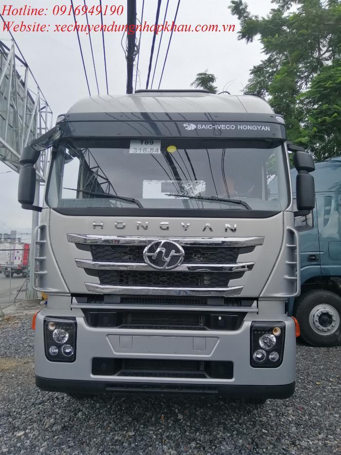 Bảng giá xe đầu kéo HONGYAN IVECO 390HP 2019 4