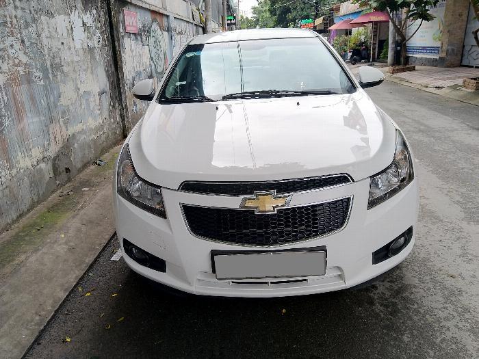 Mình Bán Chevrolet Cruze LT 2016 màu trắng số sàn đi kỹ 7
