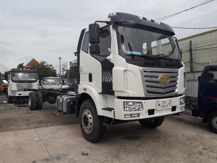 Xe tải Thùng siêu dài FAW 8 tấn nhập khẩu 100% linh kiện - Gía xe tải FAW 8 tấn thùng siêu dài 10 mét 3