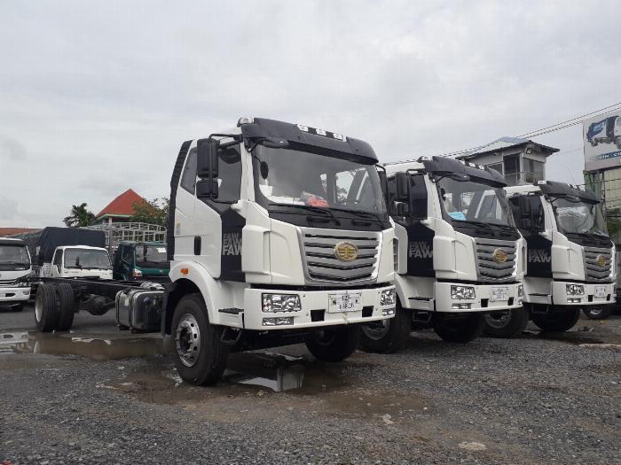 Xe tải Thùng siêu dài FAW 8 tấn nhập khẩu 100% linh kiện - Gía xe tải FAW 8 tấn thùng siêu dài 10 mét 0