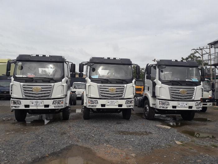 Xe tải Thùng siêu dài FAW 8 tấn nhập khẩu 100% linh kiện - Gía xe tải FAW 8 tấn thùng siêu dài 10 mét 1
