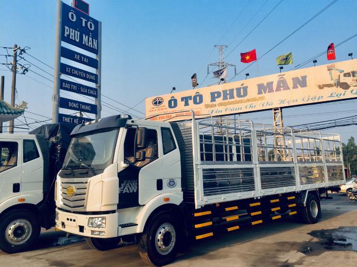 Gía xe tải FAW 8tấn thùng 10 mét -  Đại lí xe tải 8 tấn FAW tại TPHCM - FAW 8a tấn thùng siêu dài