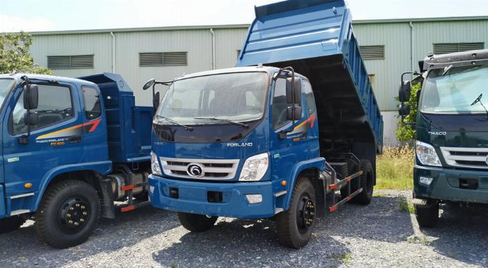 Bán xe ben Thaco Forland FD850.E4 thùng 6.5 khói tải trọng 8 tấn Long An 1