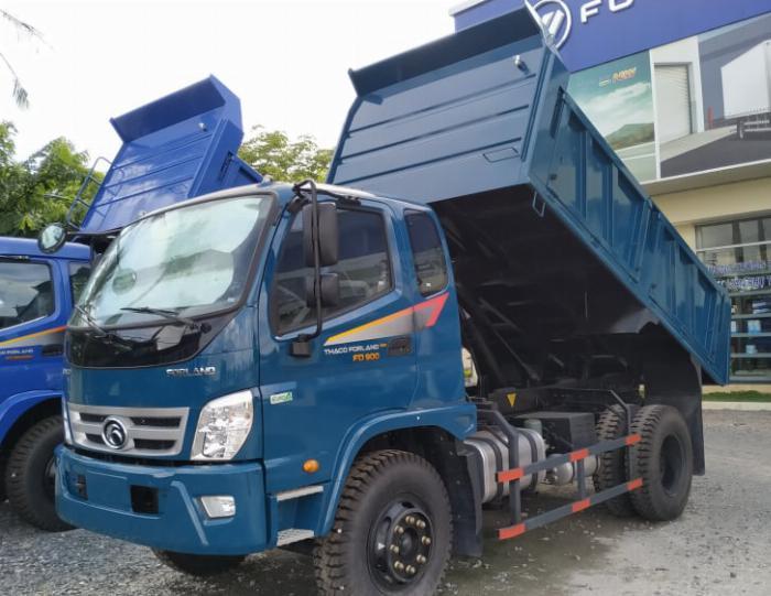 Bán xe ben Thaco Forland FD850.E4 thùng 6.5 khói tải trọng 8 tấn Long An 0
