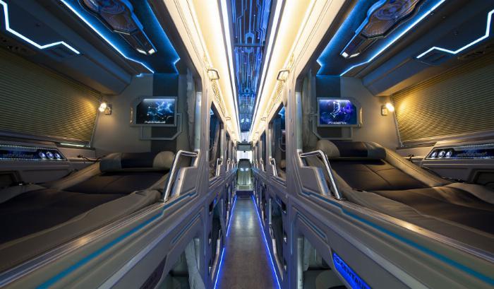 phi thuyền 22 phòng, 22 phòng vip, thaco 22 phòng