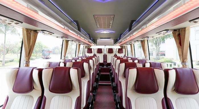 Xe khách TB85S 29 chỗ bầu hơi gánh. Mẫu mới THACO 2019 3