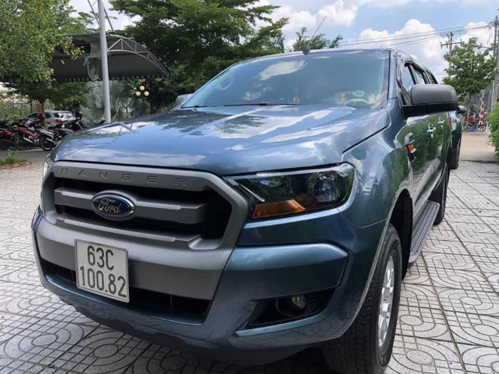 FORD RANGER XLS MT 2017 XANH THIÊN THANH