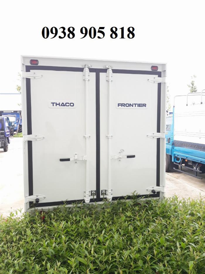 xe tải kia thùng kín tải trọng 1 tấn 4 mới 100% tại đà nẵng, có hỗ trợ vay góp lên đến 75%.