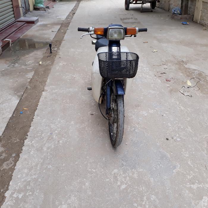 Cub 82 70cc Honda Nhật màu xanh nguyên bản biển Hà Nội