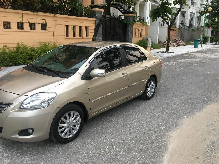1 chủ bán xe TOYOTA VIOS 1.5E màu ghi vàng, sx cuối 2011, chính chủ từ đầu