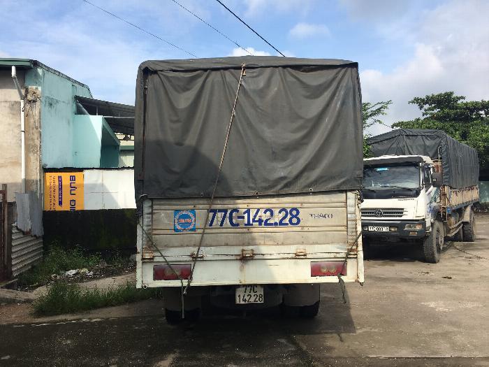 BÁN XE TẢI THACO 2013 3,25 THÙNG 5160 * 2070*2450