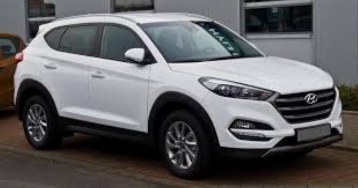 Hyundai Tucson 2019, máy dầu, trắng ngọc trai