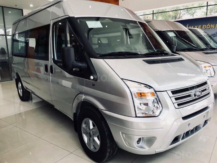 Ford Transit 2019 New, (Hỗ trợ ghế da, bọc da 5D, lót sàn), HT vay 80-90%, lãi suất ưu đãi - LH 0915150797 5