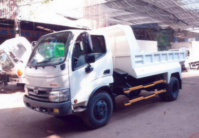 Xe ben Hino XZU342L được nhập khẩu nguyên chiếc 0