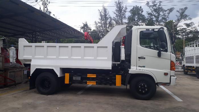 Giá Xe Ben Hino 6 Tấn, Mua xe tặng 3 chỉ vàng SJC + 100% Bảo Hiểm Vật Chất.