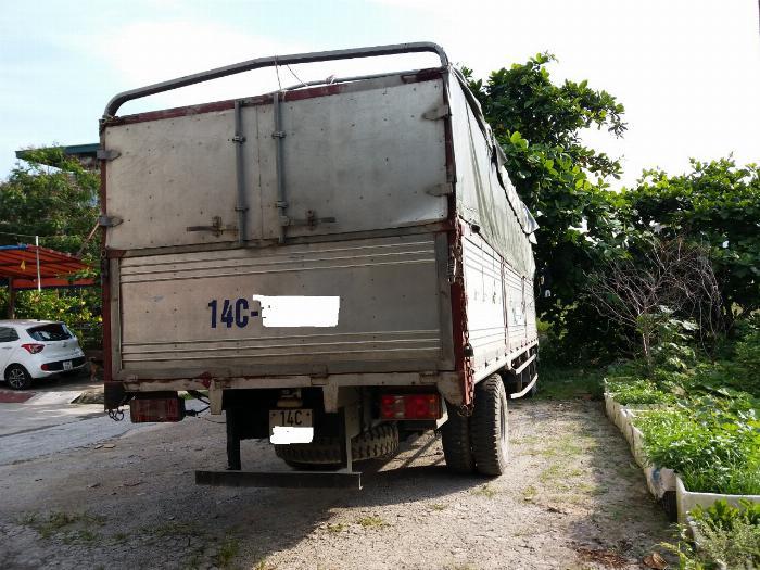 Cần bán xe tải thùng bạt VEAM, 5 tấn, thùng dài 6m, động cơ HUYNDAI 5