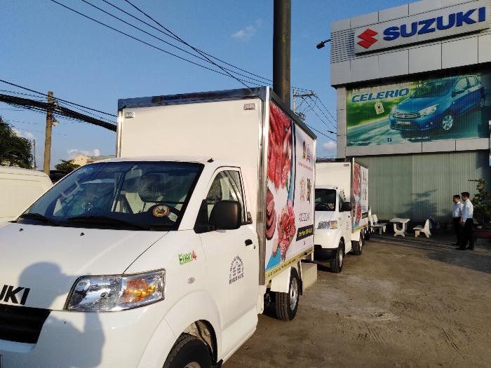 80 triệu nhận xe ngay bán trả góp suzuki carry pro 4