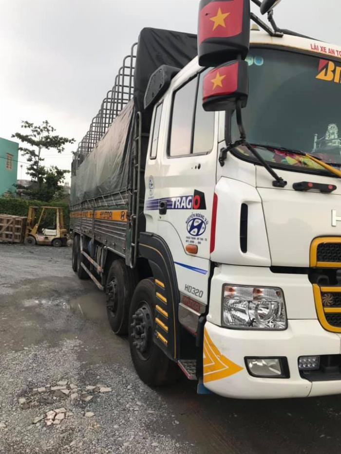 bán hyundai hd 320 đời 2014 nhập khẩu