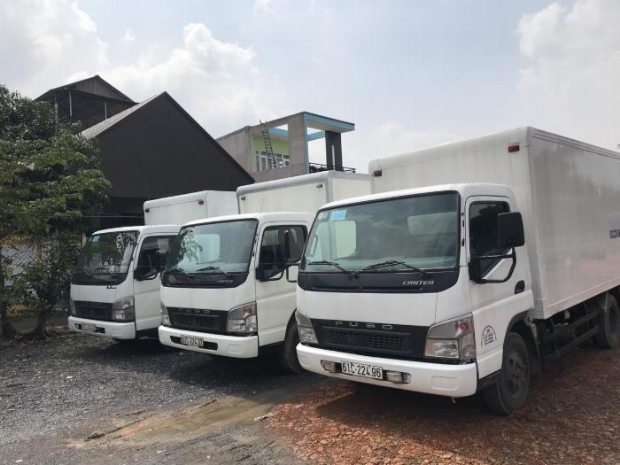 bán xe tải mitshubishi fuso 3t5 thùng kín 2016 giá tốt