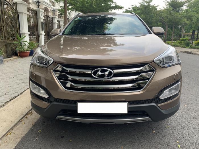 Hyundai Santa Fe sản xuất năm 2015 Số tự động Dầu diesel