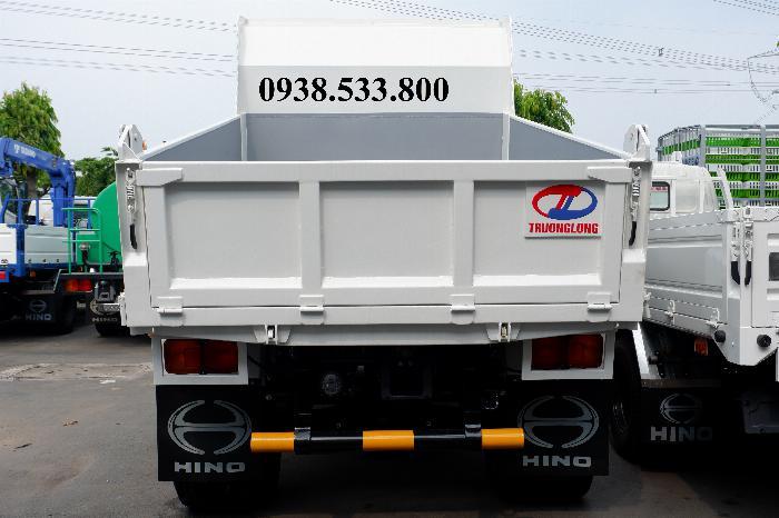 Xe Ben Hino Thùng 4 Khối Kèm Ưu Đãi, Ben nâng SHINMAYWA (Nhật Bản), tải 6 tấn 3, Hino FC9JETC E4 2