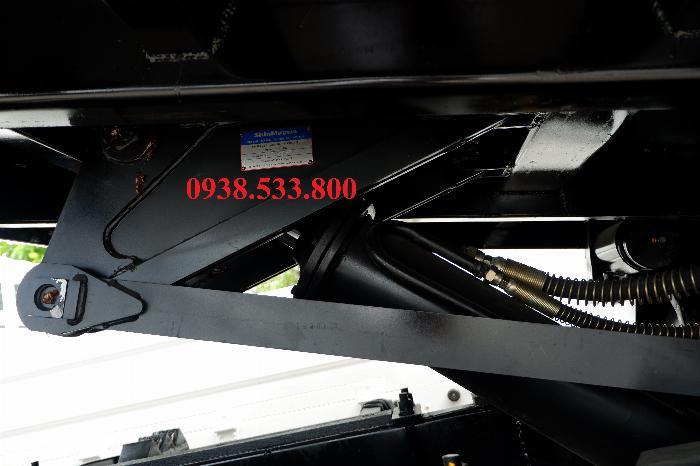 Xe Ben Hino Thùng 4 Khối Kèm Ưu Đãi, Ben nâng SHINMAYWA (Nhật Bản), tải 6 tấn 3, Hino FC9JETC E4 3