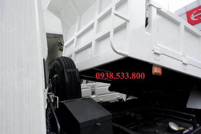Xe Ben Hino Thùng 4 Khối Kèm Ưu Đãi, Ben nâng SHINMAYWA (Nhật Bản), tải 6 tấn 3, Hino FC9JETC E4 4