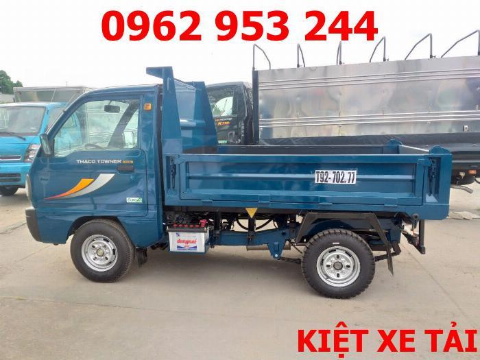 Xe tải thaco Towner 800 thùng ben nhỏ tải 750kg chuyên chở cát đá sỏi vật liệu xây dựng 15