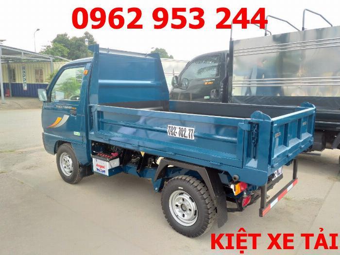 Xe tải thaco Towner 800 thùng ben nhỏ tải 750kg chuyên chở cát đá sỏi vật liệu xây dựng 16
