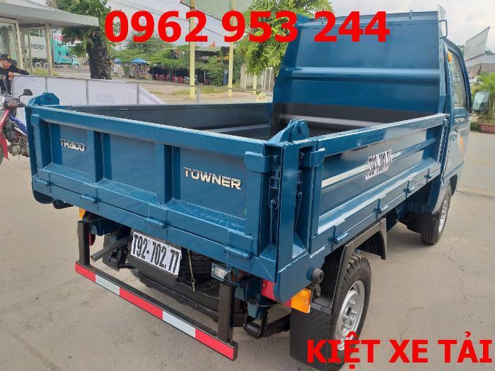 Xe tải thaco Towner 800 thùng ben nhỏ tải 750kg chuyên chở cát đá sỏi vật liệu xây dựng 17