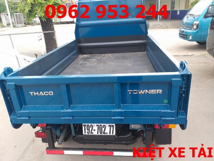 Xe tải thaco Towner 800 thùng ben nhỏ tải 750kg chuyên chở cát đá sỏi vật liệu xây dựng 18