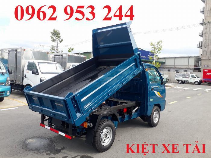 Xe tải thaco Towner 800 thùng ben nhỏ tải 750kg chuyên chở cát đá sỏi vật liệu xây dựng 2