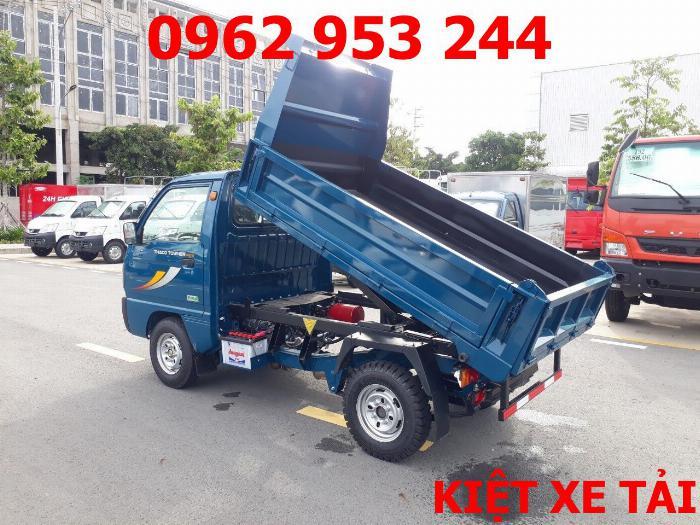 Xe tải thaco Towner 800 thùng ben nhỏ tải 750kg chuyên chở cát đá sỏi vật liệu xây dựng 3