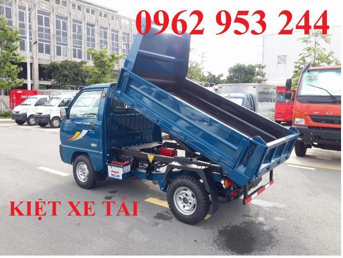Xe tải thaco Towner 800 thùng ben nhỏ tải 750kg chuyên chở cát đá sỏi vật liệu xây dựng 4