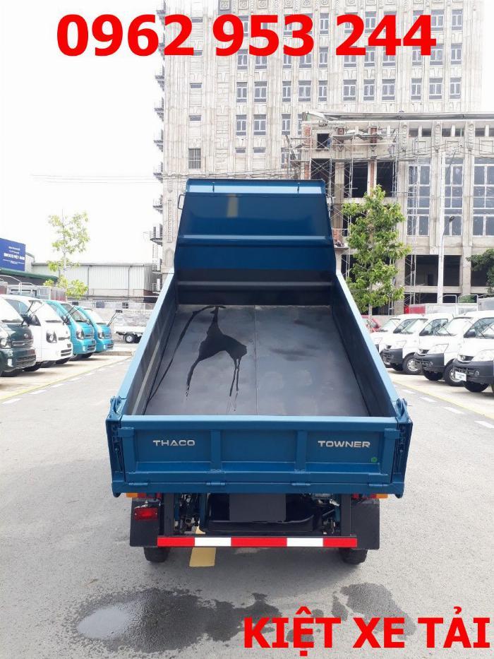 Xe tải thaco Towner 800 thùng ben nhỏ tải 750kg chuyên chở cát đá sỏi vật liệu xây dựng 5