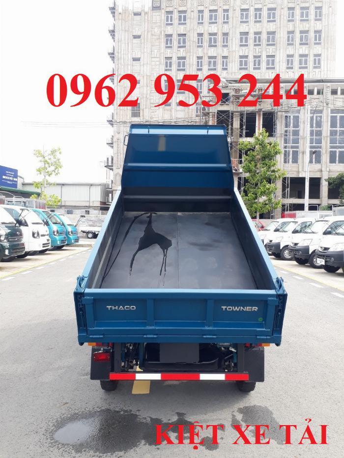 Xe tải thaco Towner 800 thùng ben nhỏ tải 750kg chuyên chở cát đá sỏi vật liệu xây dựng 6