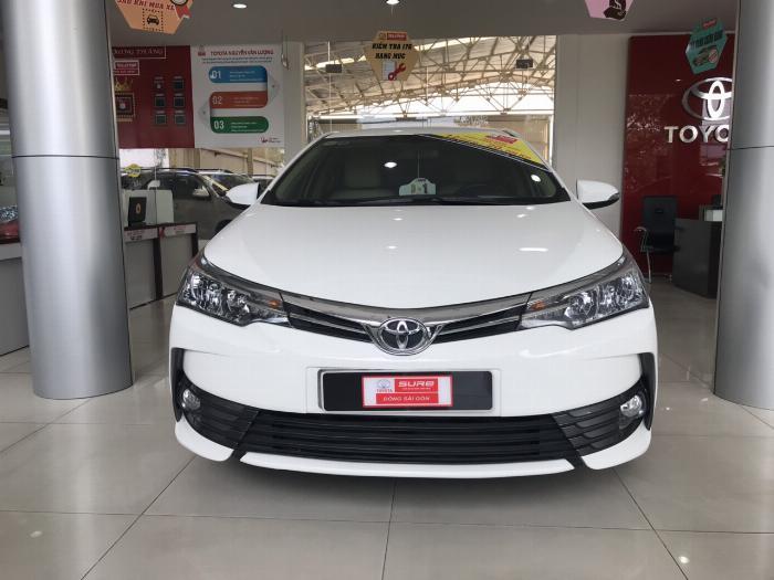 Bán xe Altis 1.8G sx 2018 còn mới cấu 12.000km, giá còn giảm
