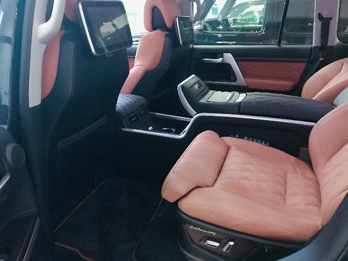 Bán Toyota Land Cruise 5.7 MBS Model 2020 ,4 chỗ ,4 ghế massage siêu Vip,xe giao ngay . 9