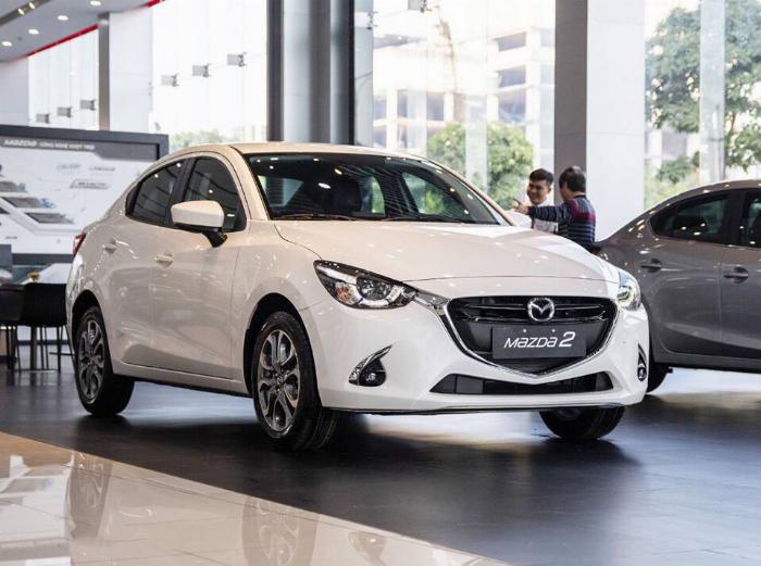Mazda 2 sedan 1.5L Luxury nhập Thái ưu đãi đến 70 triệu