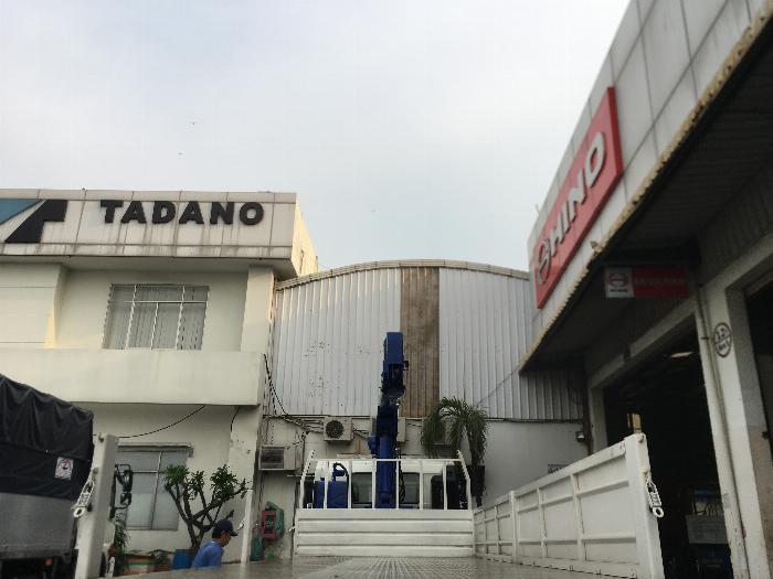 Xe Cẩu HINO 7 Tấn Gắn Cẩu TADANO Nhật nhập Thái 5 Tấn 4 Khúc, Xe Ga Cơ Đời 2017, Hỗ trợ vay 80% 4