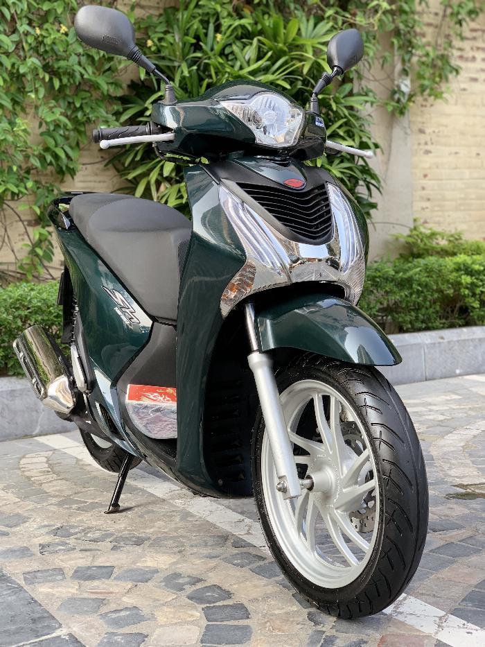 Cần bán SH Việt 125 khoá Smartkey 2016 màu xanh rêu cực chất 2