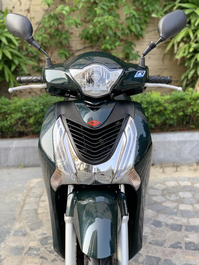 Cần bán SH Việt 125 khoá Smartkey 2016 màu xanh rêu cực chất 8