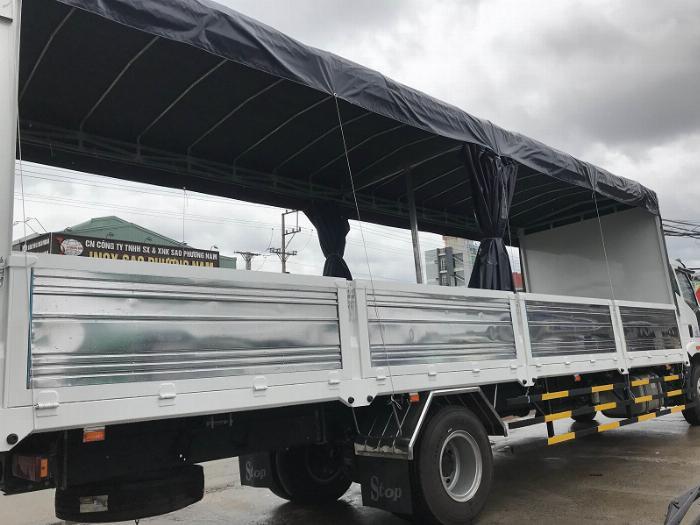Bán nhanh xe tải 8 tấn thùng dài - Model 2019, trả trước 300 nhận xe 7