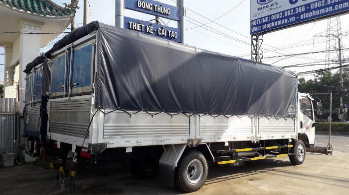Xe tải 7t3 thùng 6m2 đẩy nhanh xe ga cơ cuối cùng